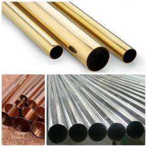 трубы алюминиевые, бронзовые, медные, из латуни